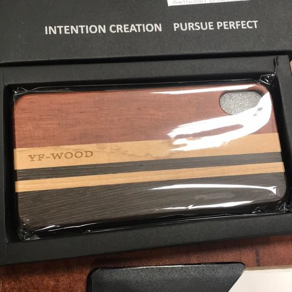 huge discount e7c19 89fa0 Wooden iPhone X case